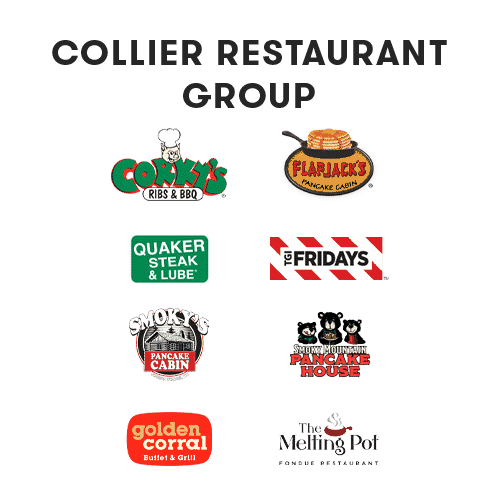 collier restaurant group logos