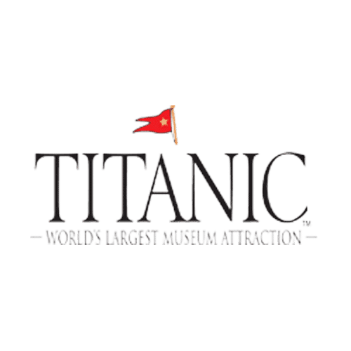 the titanic museum logo