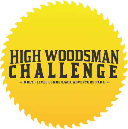 High Woodsman Challenge Multi-Level Lumberjack Adventure Park in Pigeon Forge