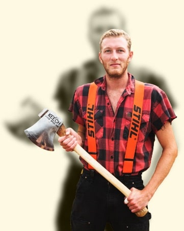 athlete card lumberjack feud